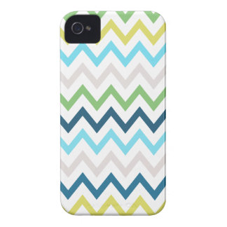 Heller Sommer-Zickzack Muster iPhone 4 Fall Case-Mate iPhone 4 Hüllen