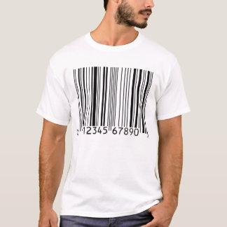 Heller T - Shirt des Barcode-(UPC)