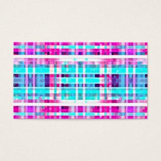 Heller Trendy rosa aquamariner Visitenkarte