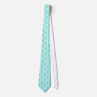 Heller Türkis aquamarines Tiffany blaues Personalisierte Krawatte