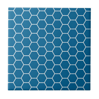 Helles blaues geometrisches keramikfliese