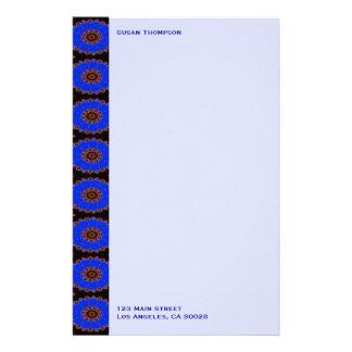 helles blaues Muster Individuelles Druckpapier