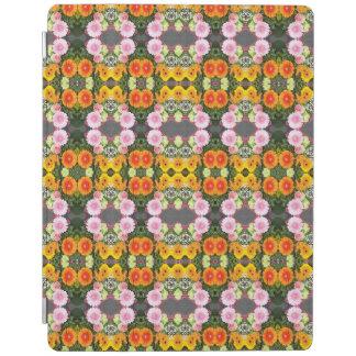 Helles Blumen iPad intelligente Abdeckung iPad Hülle