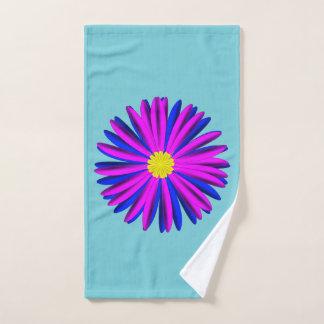 Helles Blumenhandtuch Handtuch