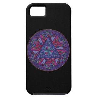 Helles böhmisches Boho Hippie-Chic-Muster iPhone 5 Cover