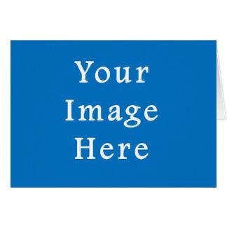 Helles gedämpftes blaues mittleres Chanukka Karte