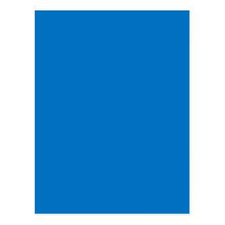 Helles gedämpftes blaues mittleres Chanukka Postkarte