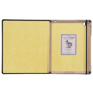 Helles Gelb Texturblick Hülle Fürs iPad