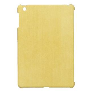 Helles Gelb Texturblick iPad Mini Cover