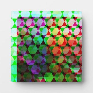 Helles Hexe-Grafikdesign Fotoplatte
