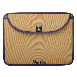 Helles hölzernes Muster Sleeve Für MacBook Pro