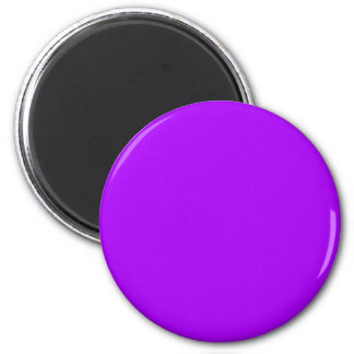helles Lila tun es sich Entwurfsschablone Runder Magnet 5,1 Cm
