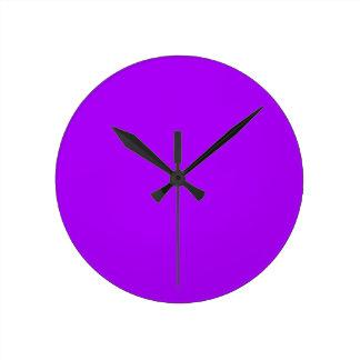 helles Lila tun es sich Entwurfsschablone Uhr