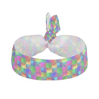 Helles Neon des Regenbogens ganz über buntem Haarband