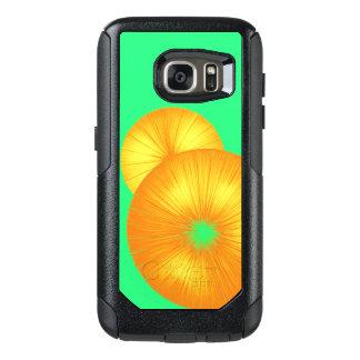 Helles orange und grünes SO COOLES OtterBox Samsung Galaxy S7 Hülle