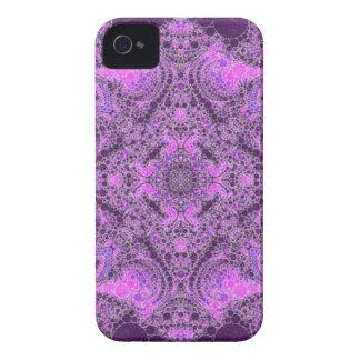 Helles rosa lila abstraktes iPhone 4 cover
