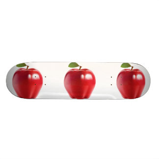 Helles rotes saftiges köstliches Apple 20,1 Cm Skateboard Deck
