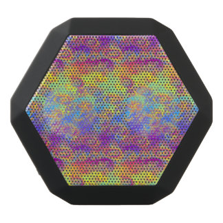 Helles Strudel-Fraktal kopiert den psychedelischen Schwarze Bluetooth Lautsprecher