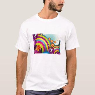 helles T-Shirt für Typen