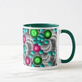 Helles u. nettes Neon färbt Tasse