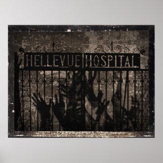 Hellevue Krankenhaus-Druck Poster