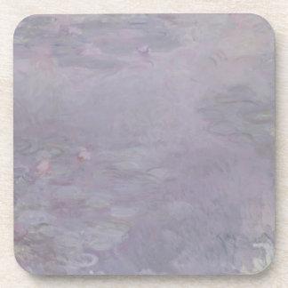 Hellfarbige Wasserlilien Claudes Monet | Untersetzer