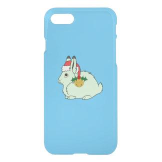Hellgrüne arktische Hasen - Weihnachtsmannmütze u. iPhone 8/7 Hülle