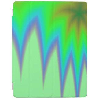 Hellgrüne blaue Spitze iPad Hülle