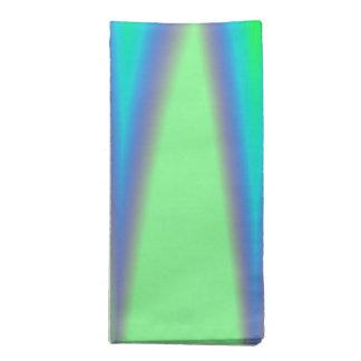 Hellgrüne blaue Spitze Stoffserviette