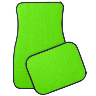 Hellgrüne niedliche Farbe Auto Fussmatte