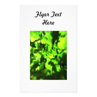 Hellgrüne Zusammenfassung 14 X 21,6 Cm Flyer