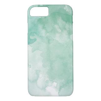 Hellgrüner Aquarell-Telefon-Kasten iPhone 8/7 Hülle