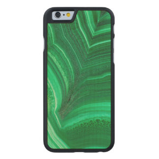 Hellgrünes Malachit-Mineral Carved® iPhone 6 Hülle Ahorn