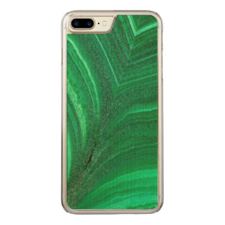 Hellgrünes Malachit-Mineral Carved iPhone 8 Plus/7 Plus Hülle