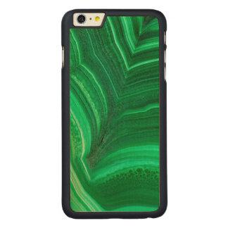 Hellgrünes Malachit-Mineral Carved® Maple iPhone 6 Plus Hülle