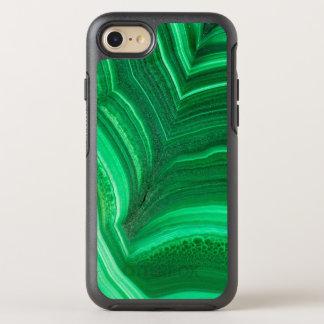 Hellgrünes Malachit-Mineral OtterBox Symmetry iPhone 8/7 Hülle