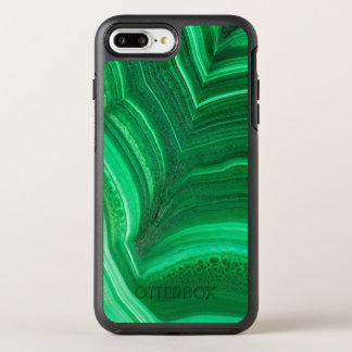 Hellgrünes Malachit-Mineral OtterBox Symmetry iPhone 8 Plus/7 Plus Hülle