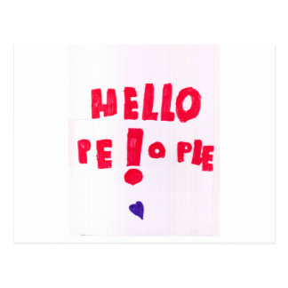 Helloe Leute! Postkarte