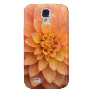 Hellorangee Dahlie Galaxy S4 Hülle