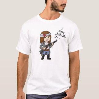 Helloween4545 I Richtung Ninjas T-Shirt Mann M