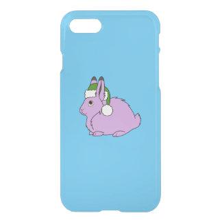 Hellpurpurne arktische Hasen mit grüner iPhone 8/7 Hülle