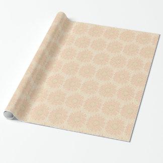 Hellrosa BlumenPackpapier Geschenkpapier