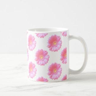 Hellrosa Gerberagänseblümchen Kaffeetasse