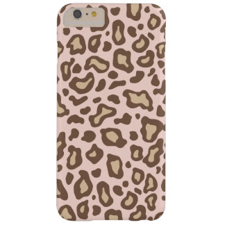 Hellrosa Leopard iPhone Fall Barely There iPhone 6 Plus Hülle