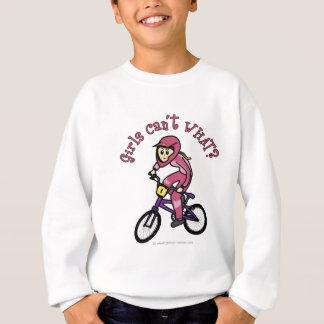 Hellrosa Mädchen BMX Sweatshirt