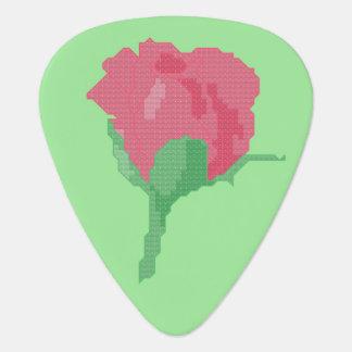 Hellrosa Rose Plektron