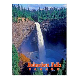Helmcken Fälle, Britisch-Columbia, Kanada Postkarte
