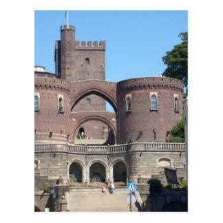 Helsingborg-Schloss - Schweden Postkarte