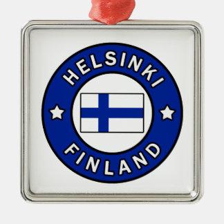 Helsinki Finnland Silbernes Ornament