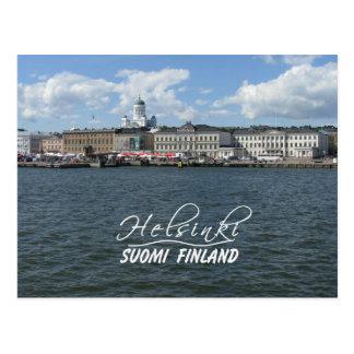 Helsinki-Hafenpostkarte, fertigen besonders an Postkarte